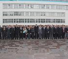Konya Şekerde düzenlenen törene Konya Şeker çalışanları katıldı.