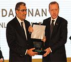 Anadolu Aslanları Konya Şeker'i Seçti Ödülü Başbakan Recep Tayyip Erdoğan Verdi
