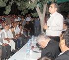 Pankobirlik Genel Başkanı Recep Konuk üreticileri, üretimde ve sorunların çözümünde ortak akla kattı