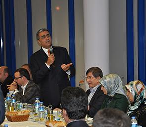 Dışişleri Bakanı'ndan Çumra Şeker'e Bayram Ziyareti