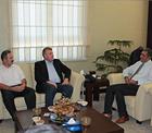Recep Konuk, Torku Konyaspor ve Anadolu Selçukluspor yöneticilerini kabul etti.