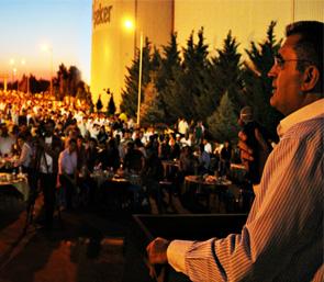 """Pankobirlik Genel Başkanı Recep Konuk """"Konya Şeker Ailesinin İftar Sofrası Büyüdükçe, On binlerce Çiftçinin Sofrası Zenginleşiyor"""""""
