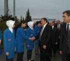Çevre ve Orman Bakanı Veysel Eroğlu, Konya Şeker'in Çumra Şeker Kampüsü'nü de ziyaret etti.