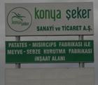 Konya Şeker'den 12. Fabrika Parmak Patates Fabrikası.