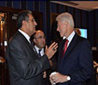 Clinton, Papandreau, Yong Kim ve Muhtar Kent ile görüşen Recep Konuk, mesajı New York'tan verdi.
