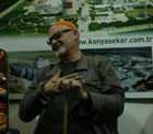 Ünlü yazar, tiyatrocu Engin Noyan Karaman'da Konya Şeker'in onur konuğuydu.