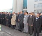 Konya Şeker'de Atatürk'ü anma töreni.