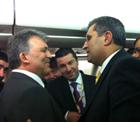 Recep Konuk, Gül'ün ziyaretlerine katıldı.