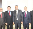 Microsoft CEO'su ve beraberindeki heyet, Pankobirlik Genel Başkanı Recep Konuk'u ziyaret etti.